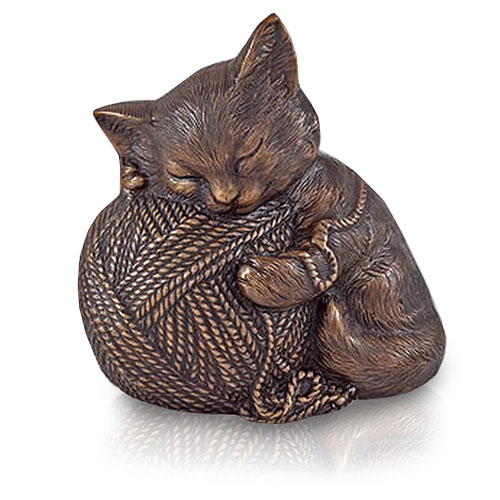 Cat Urn - Precious Kitty, Copper