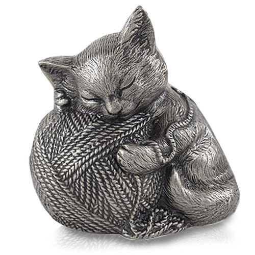 Cat Urn - Precious Kitty, Silver