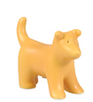 Sunflower Yellow Puppy Figure Ceramic Cremation Urn Keepsake