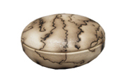 Small Pet Urn Keepsake: Micaceous Horsehair Box
