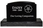 Pet Burial Granite Marker- Traditional
