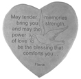 Garden Stone Pet Memorial: May tender memories bring you strength