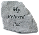 Garden Stone Pet Memorial: My Beloved Pet