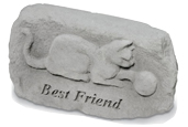 Cat Memorial: Cat with Yarn, Best Friend