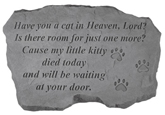 Garden Stone Pet Memorial: Have You a Cat in Heaven