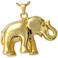 Elephant Never Forgets Pet Cremation Jewelry