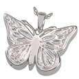 Pet Cremation Jewelry: Perfect Filigree Butterfly