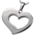 Pet Cremation Jewelry Stainless Steel Affectionate Heart
