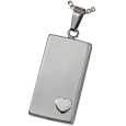 Pet Cremation Jewelry Stainless Steel Heart of Foundation
