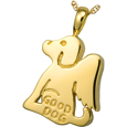 Good Dog Pet Cremation Jewelry Pendant