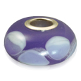 Pet Cremation Jewelry: Lasting Memory Bead Purple