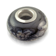 Pet Cremation Jewelry Perfect Memory Bead Gray