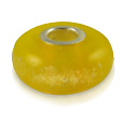 Pet Cremation Jewelry Perfect Memory Bead Yellow
