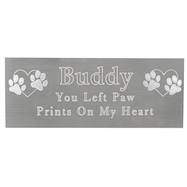 Small Plaques For Engraving Small Pet Memorial Engraved