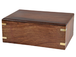 Perfect Wooden Box Pet Urn Medium