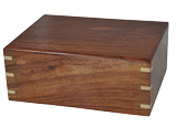 Perfect Wooden Box Pet Urn Large