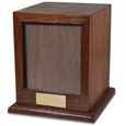 Elegant Photo Wood Pet Urn