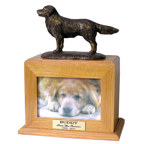 Golden Retriever Cremation Dog Urn