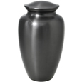 Large Dog Urn - Simple Grey