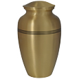 Large Dog Urn - Golden Classic