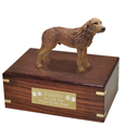 Pet Urns: Chesapeake Bay Retriever Figurine Wood Urn