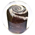 Pet Memory Glass Solid Galaxy Aged Bronze