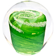 Pet Memory Glass Solid Galaxy Forever Green