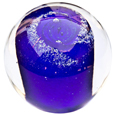 Pet Memory Glass Solid Galaxy Ocean Blue