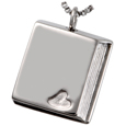 Pet Cremation Jewelry Stainless Steel Book of Love