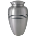 Large Dog Urn - Traditional Pewter