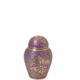 Pet Urns Butterflies Purple Mini Urn Keepsake- 3