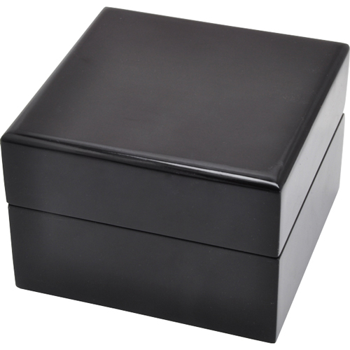 Wooden Pet Urn Black Piano Hardwood Box Urn
