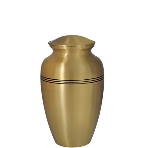 Pet Urn Keepsake Golden Classic- 6""