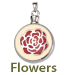 Pet Cremation Jewelry Flowers