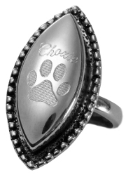 pet cremation jewelry ring