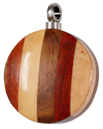 Wood Pet Cremation Jewelry