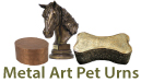 metal art pet urns