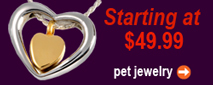 view pet cremation jewelry