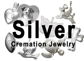 Silver Pet Cremation Jewelry