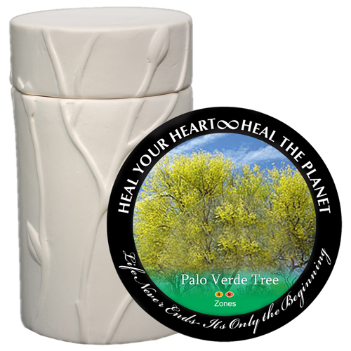 Pet Cremation Urn Memorial Tree- Palo Verde
