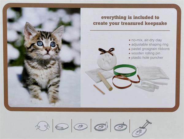 Pet Memorial Pawprint Keepsake