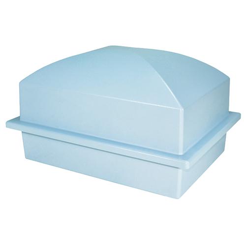 Pet Burial Vault in Blue| Pet Caskets | Memorial Gallery Pets
