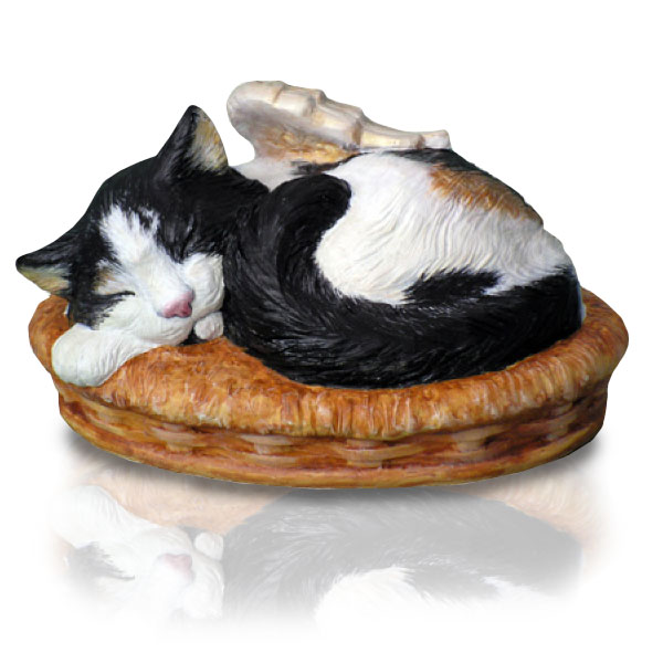 Sleeping Cat Pet Urn