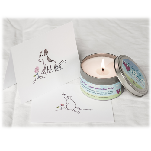 healing heart candle pet loss bereavement gift memorial gallery pets