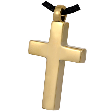 Brass Cross Pet Cremation Jewelry
