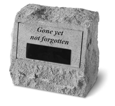 Gone yet not forgotten..with custom text pet urn