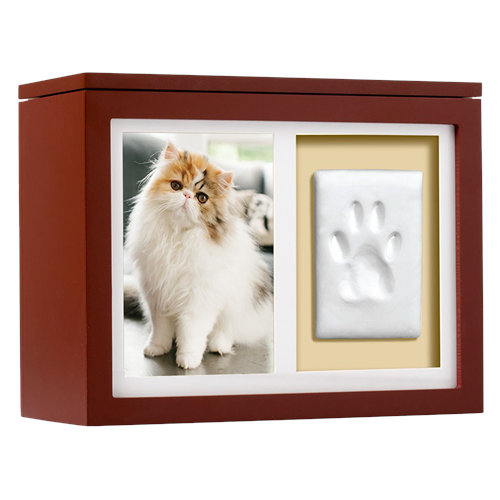 pet memorial wood memory box