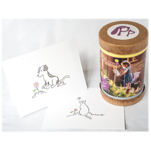 Pet Perennials Kit Bereavement Bundle with sympathy card