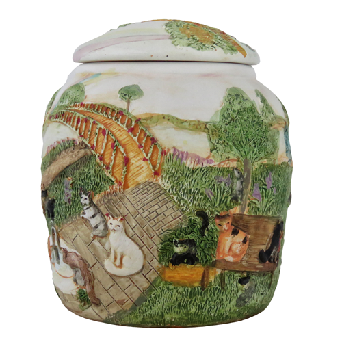 rainbow bridge cat urn