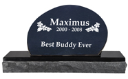 Pet Burial Granite Marker- Oblong